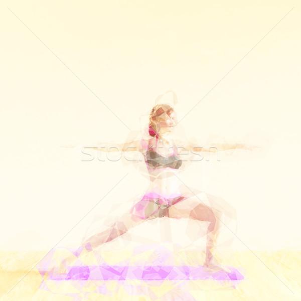 Meditation Concept Stock photo © kentoh