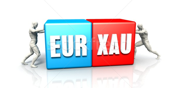EUR XAU Currency Pair Stock photo © kentoh