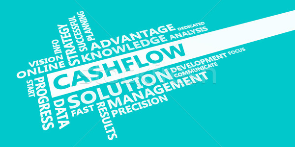 Cashflow Presentation Background Stock photo © kentoh
