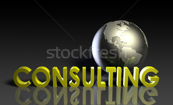 Consulting Services Stock photo © kentoh