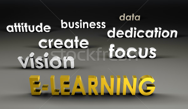 E-Learning at the Forefront Stock photo © kentoh