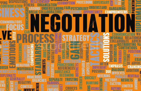 Negotiation Stock photo © kentoh