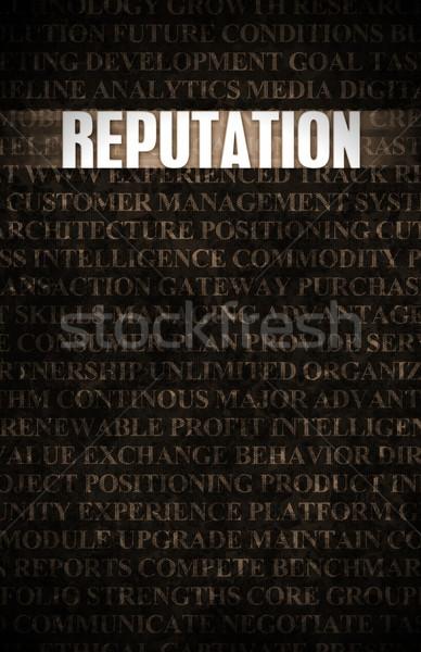 üzlet motiváció kőfal fal kő ipar Stock fotó © kentoh