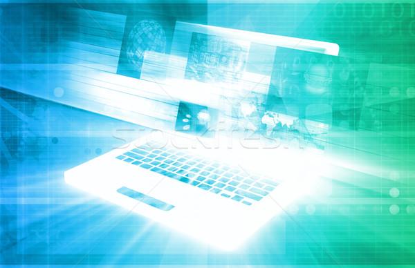 E-Commerce Solutions Stock photo © kentoh