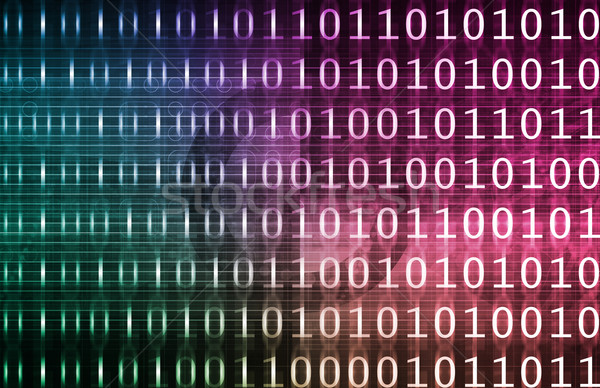 Bazy danych danych analiza działalności technologii Zdjęcia stock © kentoh