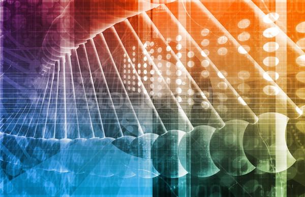 Biotechnologie biotech wetenschap veld abstract corporate Stockfoto © kentoh