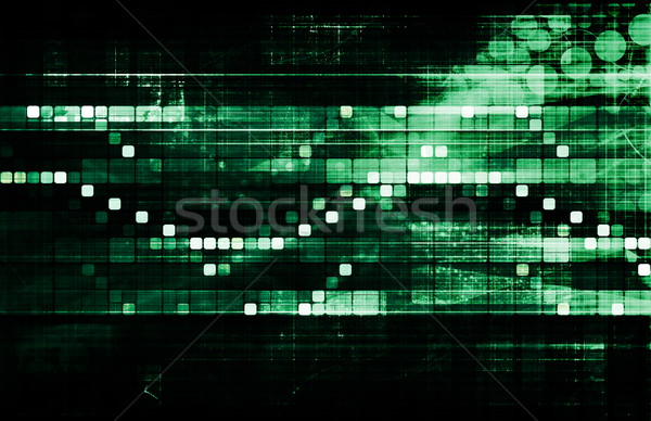 Futuristic Interface Stock photo © kentoh