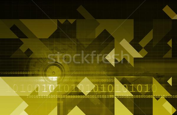 Medici analitica analisi dati lavoro tecnologia Foto d'archivio © kentoh