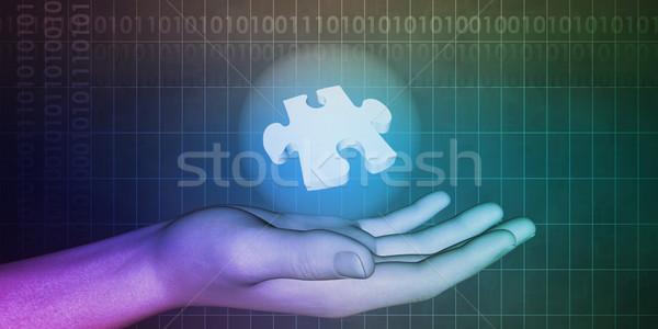 Orvostudomány technológia háttér tudomány Stock fotó © kentoh