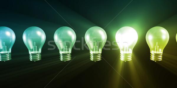 Business innovatie groot verschillend ideeën technologie Stockfoto © kentoh