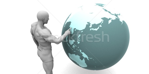 Business Expansion into Asia Stock photo © kentoh