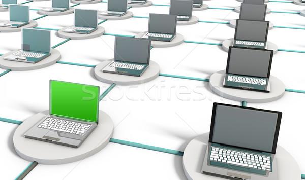 Computer Network Stock photo © kentoh