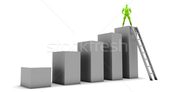 Reaching New Heights Stock photo © kentoh