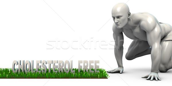 コレステロール 無料 男 見える 白 サポート ストックフォト © kentoh
