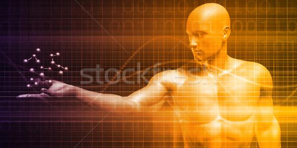 Ciencia moléculas investigación desarrollo médicos salud Foto stock © kentoh