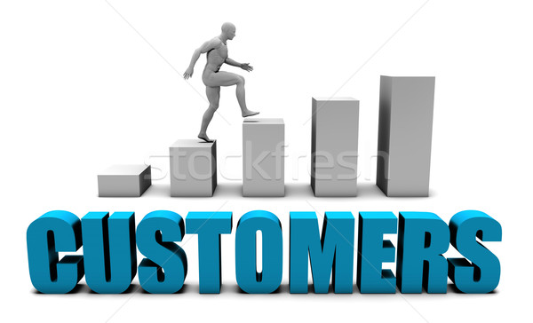 Customers Stock photo © kentoh