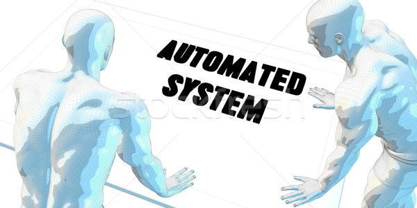 Automated System Stock photo © kentoh