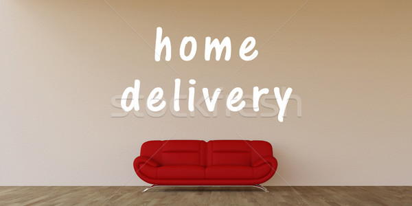 Home Delivery Stock photo © kentoh