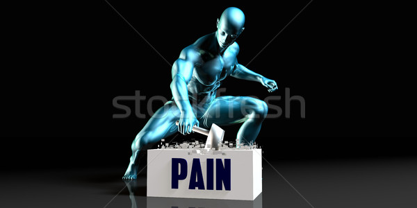 Get Rid of Pain Stock photo © kentoh