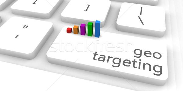 Célzás gyors könnyű weboldal üzlet internet Stock fotó © kentoh