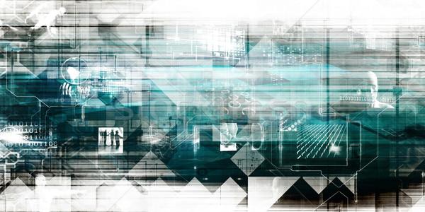 Business Technology Background Stock photo © kentoh