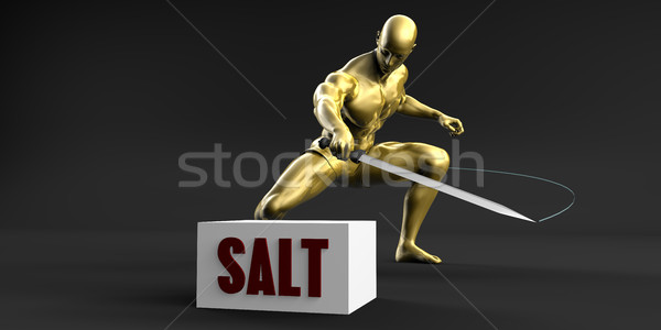 Reduce Salt Stock photo © kentoh