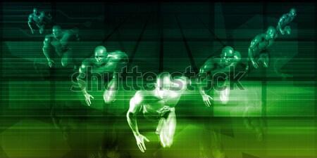 à grande vitesse internet connexion web données connectivité Photo stock © kentoh