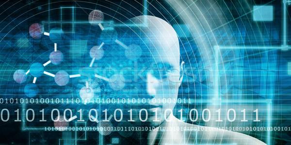 Stockfoto: Medische · nieuws · ontdekking · netwerk · geneeskunde · wetenschap