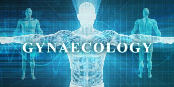 Medische specialiteit veld afdeling man lichaam Stockfoto © kentoh