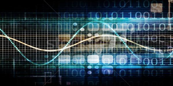 Dados integração banco de dados gestão computador tecnologia Foto stock © kentoh