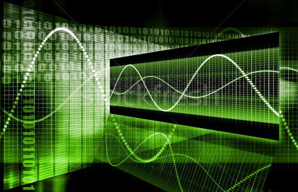 Green Web Internet Online Growth Stock photo © kentoh