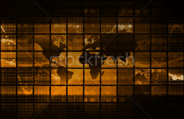 Internet soyut web dijital iş doku Stok fotoğraf © kentoh