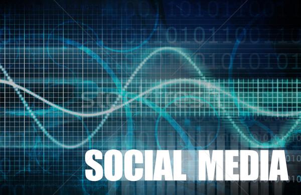 Stok fotoğraf: Sosyal · medya · iş · kişisel · Internet · ağ · web