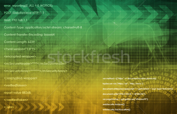 Multimedia Technologie global Web Daten Kunst Stock foto © kentoh