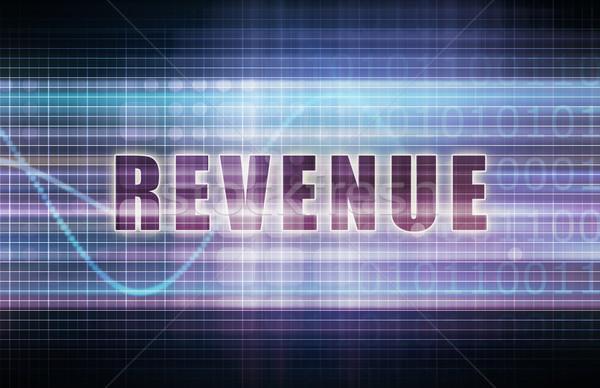 Revenue Stock photo © kentoh