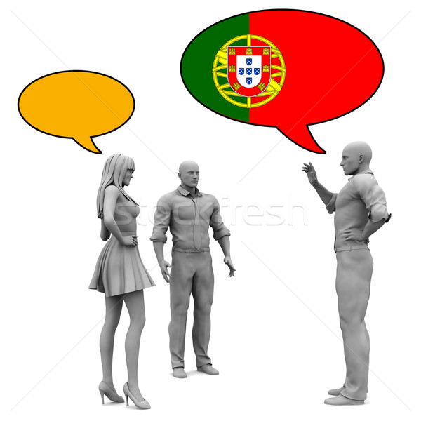 узнать культура язык женщину друзей мужчин Сток-фото © kentoh