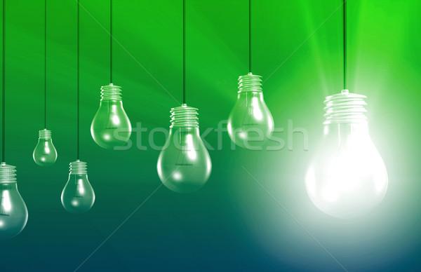 Egyedi elad pont ötlet internet előrelátás Stock fotó © kentoh