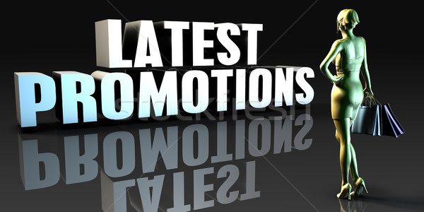 Latest Promotions Stock photo © kentoh