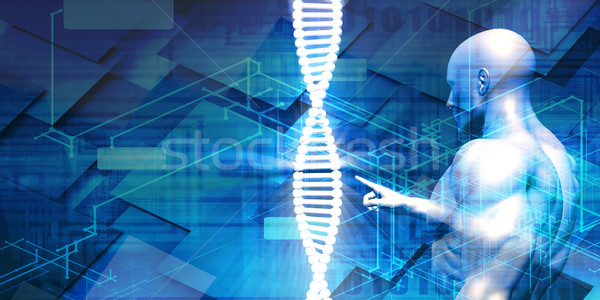 Genetic Engineering Industry Stock photo © kentoh