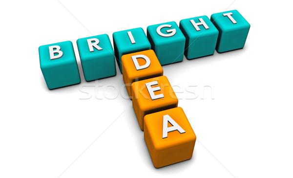 Bright Idea Stock photo © kentoh