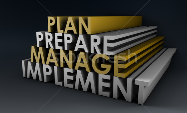 Management Planning Stock photo © kentoh