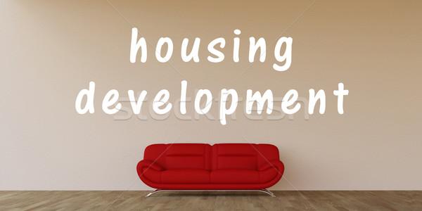Housing Development Stock photo © kentoh