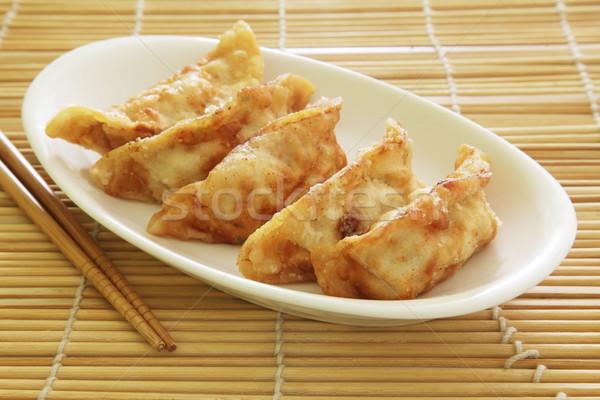 Çin stil mutfak arka plan yağ Stok fotoğraf © kentoh