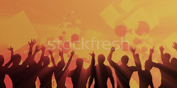 Celebration Background Stock photo © kentoh