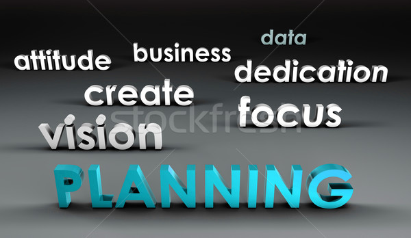 Planning at the Forefront Stock photo © kentoh