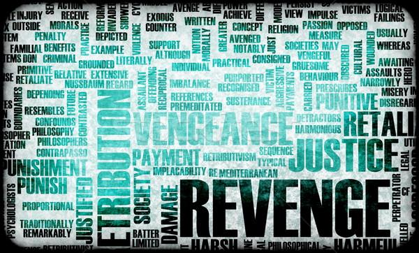 Revenge Stock photo © kentoh