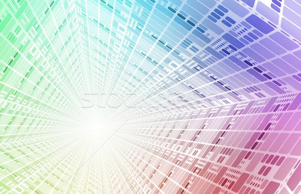 Teknoloji ağ devre kartı veri Internet Stok fotoğraf © kentoh