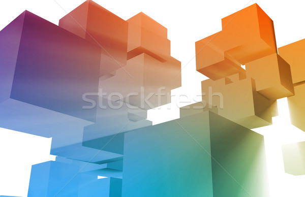 Data Mining Stock photo © kentoh