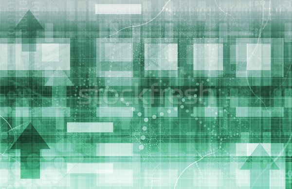 Technology Background Design Stock photo © kentoh