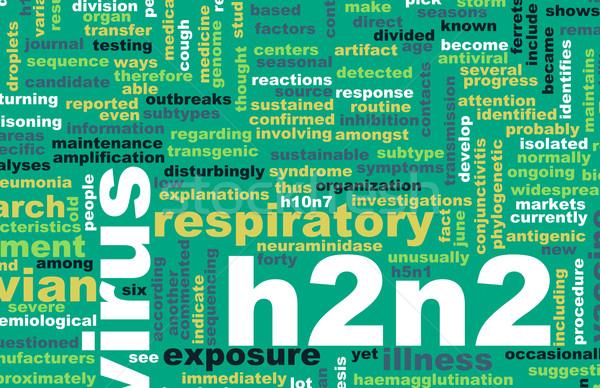 H2N2 Stock photo © kentoh